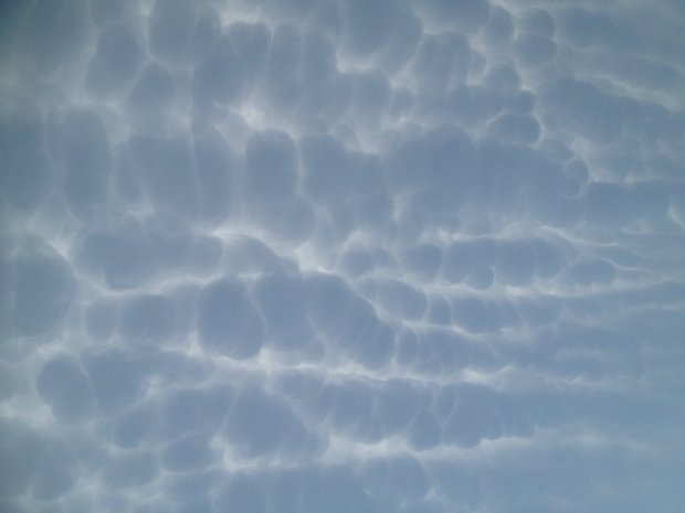 More mammatus from July 1, 2012